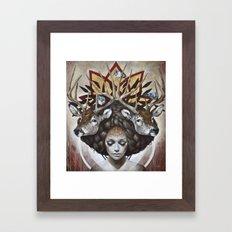 Douceurs de Virginie Framed Art Print