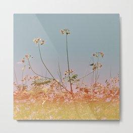 Flowers#retro#film#effect Metal Print