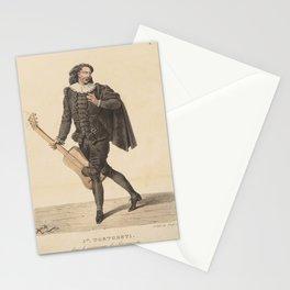 Delpech Francois Seraphin Jph Tortoreti dans le personnage de ScaramoucheAdditional Costumes de theatre de a Stationery Cards
