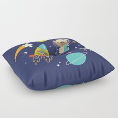 Space Critters Floor Pillow