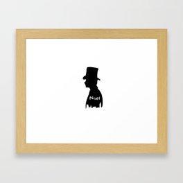 Chris Colfer as Noel Coward Framed Art Print