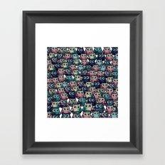 owl-98 Framed Art Print