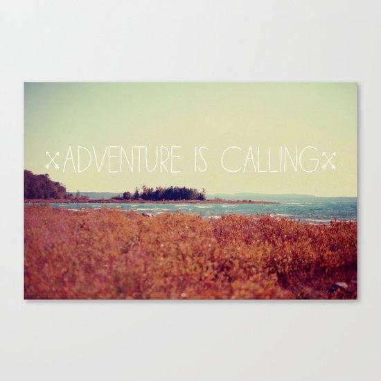 Adventure is Calling #2 Canvas Print