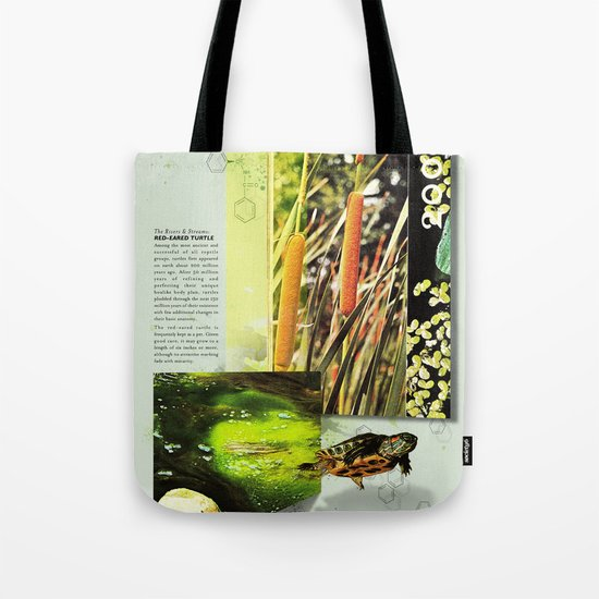 Red-Eared Turtle Tote Bag