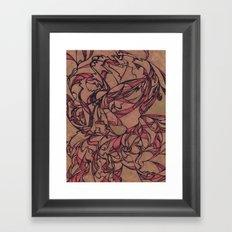 Autumn Dance Framed Art Print