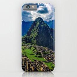 Machu Picchu City, Cusco – Peru iPhone Case