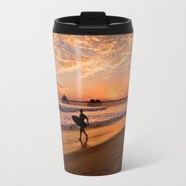Surf City Sunsets   9/10/15   Huntington Beach California  Travel Mug
