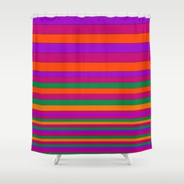Stripe2 Shower Curtain