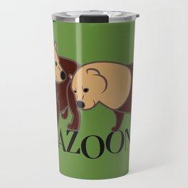 Speothos from Amazonia Travel Mug
