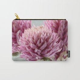 A Pop of Pink Floral Carry-All Pouch