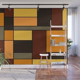 Mondrian Autumn Wall Mural
