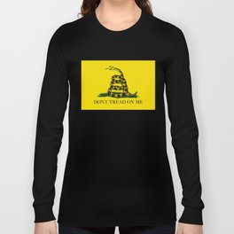"Gadsden ""Don't Tread On Me"" Flag, High Quality image Long Sleeve T-shirt"