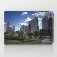 boston iPad Cases featuring Boston by Jill Deering