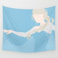 elsa Wall Tapestries featuring Elsa by Polvo