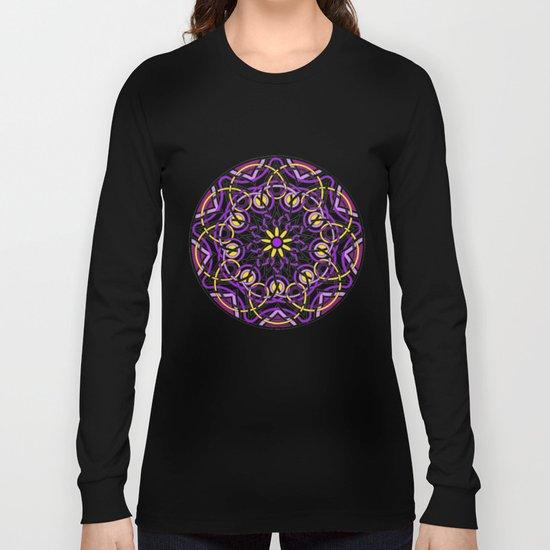 Mandhala Metamorphosis | Reiki | Meditation | Yoga Long Sleeve T-shirt