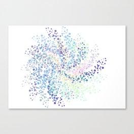 Rainbow Tornado Canvas Print