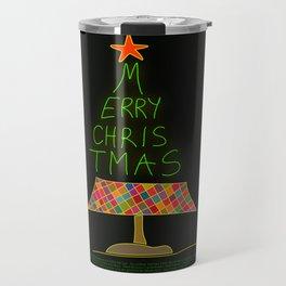 Merry christmas handwritten Travel Mug
