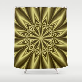 Gold Nugget Shower Curtain