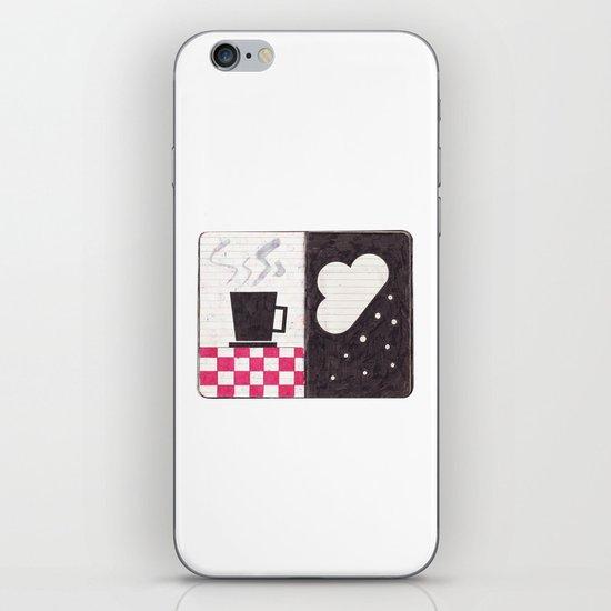 Coffee & Snow iPhone & iPod Skin