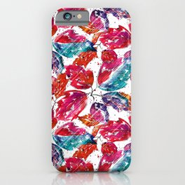 Leaf fall. iPhone Case