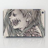 gore iPad Cases featuring Gore Girl by Savannah Horrocks
