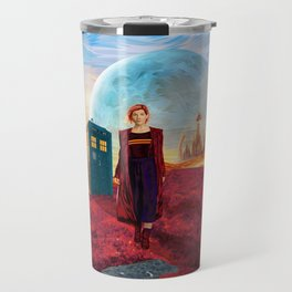 13th Doctor at Gallifrey Planet Travel Mug
