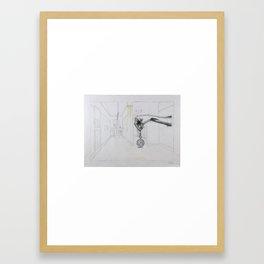 The Timekeeper Framed Art Print