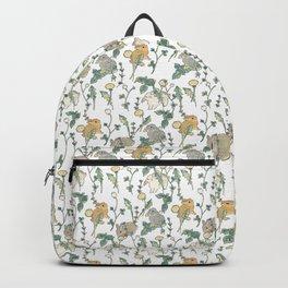 Spring Garden -white Backpack