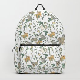 Spring Garden -white Backpack