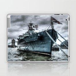 HMS Belfast at Rest Laptop & iPad Skin