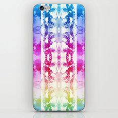 Tie Dye Rainbow iPhone & iPod Skin