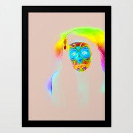 I'm not dead Art Print