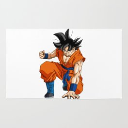 Fan Art Goku Dragonball Rug