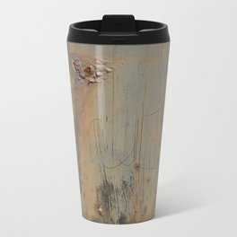 Disgusting Grungy Rusty Wounded Painted Metal Metal Travel Mug