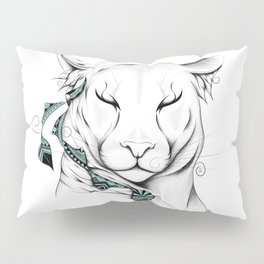 Poetic Cougar Pillow Sham