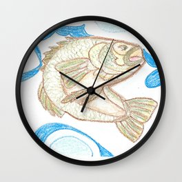 Bass Wall Clock