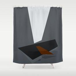Somber Procrastination Shower Curtain