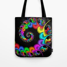 the perky spiral -4- Tote Bag