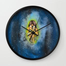 Lonely space Wall Clock