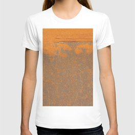 Iron and rust T-shirt