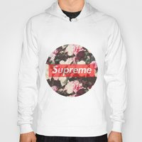 supreme Hoodies featuring Supreme Circle  by Massero Project