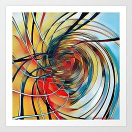 Motions Art Print