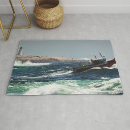 Cresting the Wave Rug