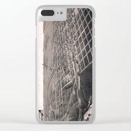 Bismarck - North Dakota - 1883 Clear iPhone Case