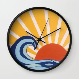 Let Your Sun Shine Wall Clock