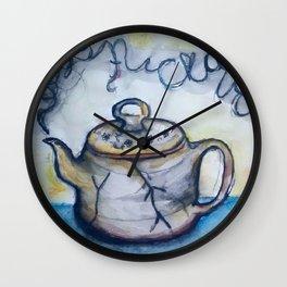Steamed Wall Clock