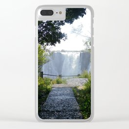 Mosi-oa-Tunya: Serenity Clear iPhone Case