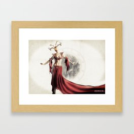 Poster - Dancer Framed Art Print