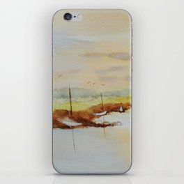 Sky & Boats iPhone Skin