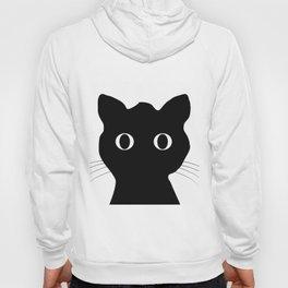 Black eyes cat Hoody